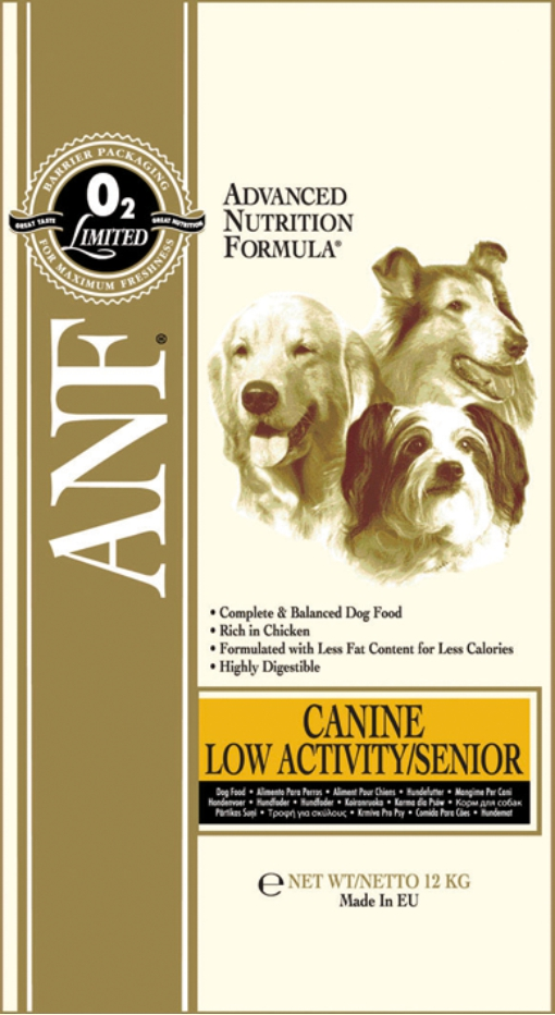 ANF Canine Low Activity/Senior 12kg
