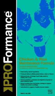 PROFormance Maintenance Chicken&Rice 15kg