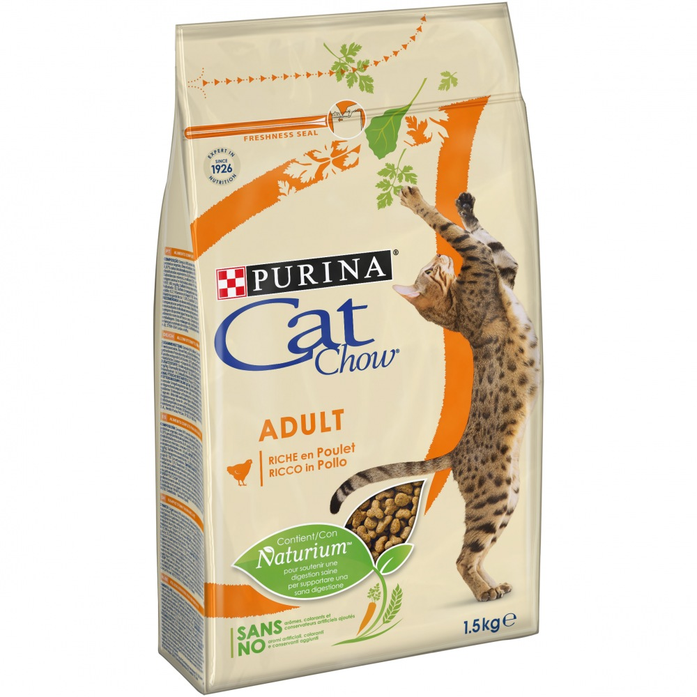 Cat Chow Adult kuře + krůta 15kg