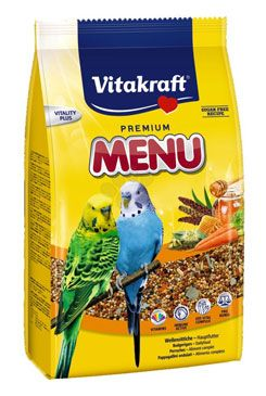Vitakraft Menu Sittich Honey bag 500g