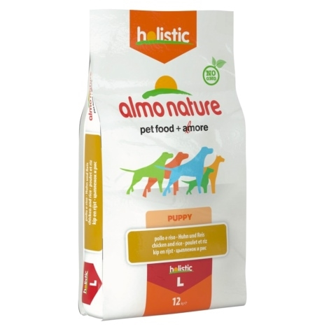 Almo Nature Holistic Dog L Puppy Chicken & Rice 12kg