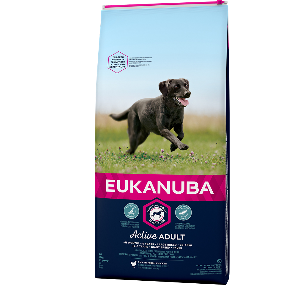 Eukanuba Adult Large Breed15kg+3kg