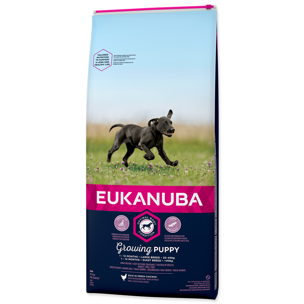Eukanuba Puppy Large Breed15kg+3kg