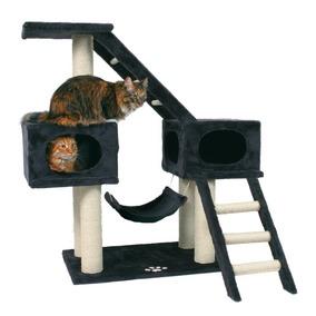 Škrabadlo MALAGA pro více koček v domácnosti 109 cm antracit