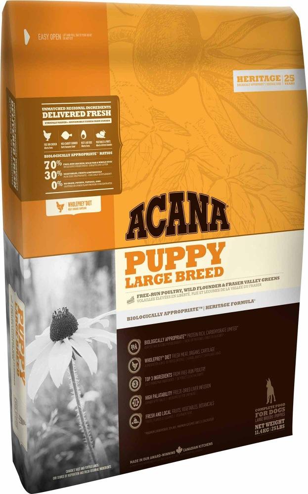 ACANA Heritage Dog Puppy Large Breed 2x17kg