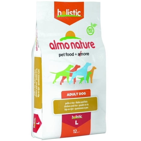 Almo Nature Holistic Dog L Adult Chicken & Rice 12kg