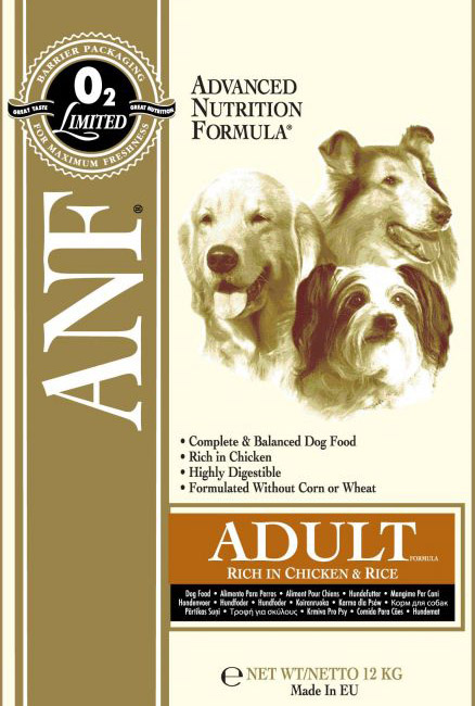 ANF Canine Chicken & Rice 12kg