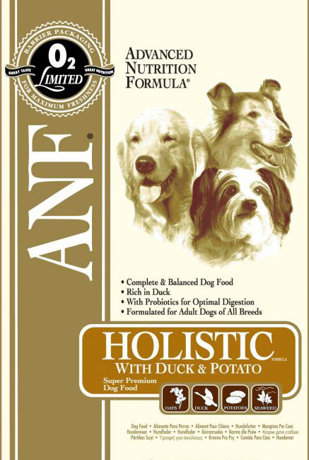 ANF Canine Holistic Duck & Potato 12kg