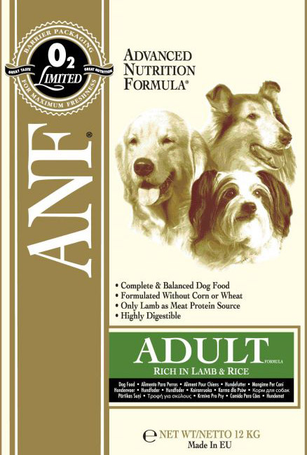 ANF Canine Lamb & Rice 12kg