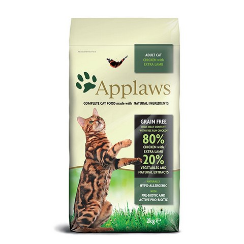 Applaws Cat Adult Chicken&Lamb 2x7,5kg