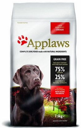 Applaws Dog Adult Large Chicken 2x7,5kg