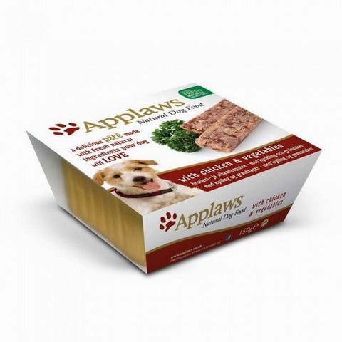 Applaws Paté Dog kuře a zelenina 150g