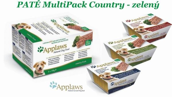 Applaws Paté Dog MultiPack COUNTRY 5x150g