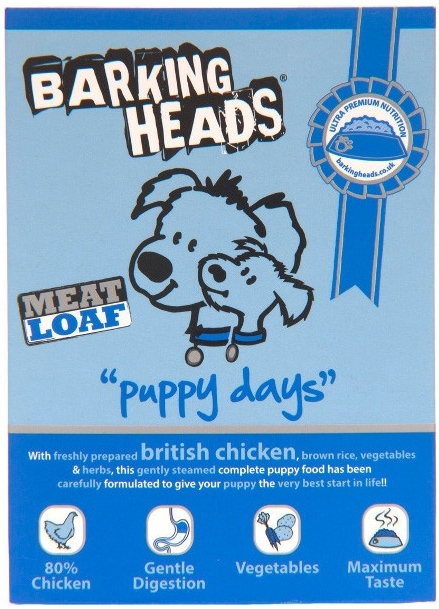 Barking Heads Konzerva Puppy Days 150g