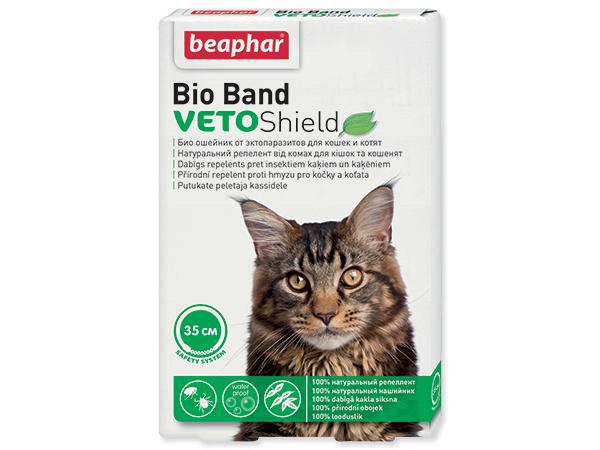 Beaphar Cat Bio Band antiparazitní obojek 35 cm