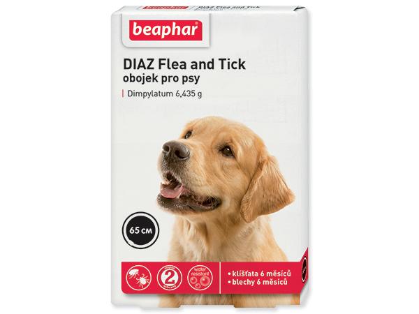 Beaphar Dog Diaz antiparazitní obojek 65 cm