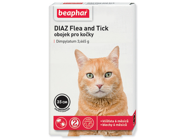 Beaphar Cat Diaz antiparazitní obojek 35 cm