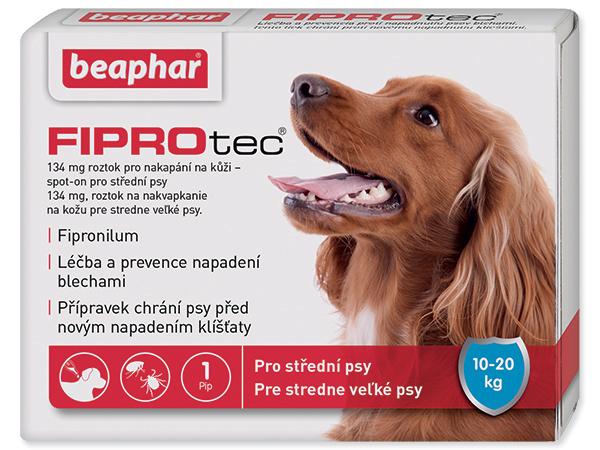 Beaphar Fiprotec Spot on pro psy M 10-20 kg