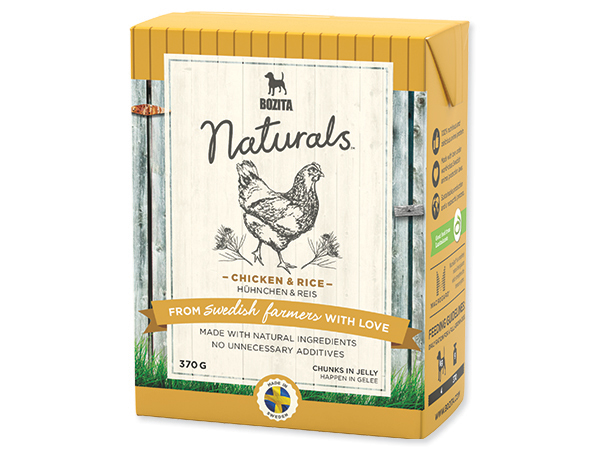 Bozita Naturals BIG Chicken + Rice 370g