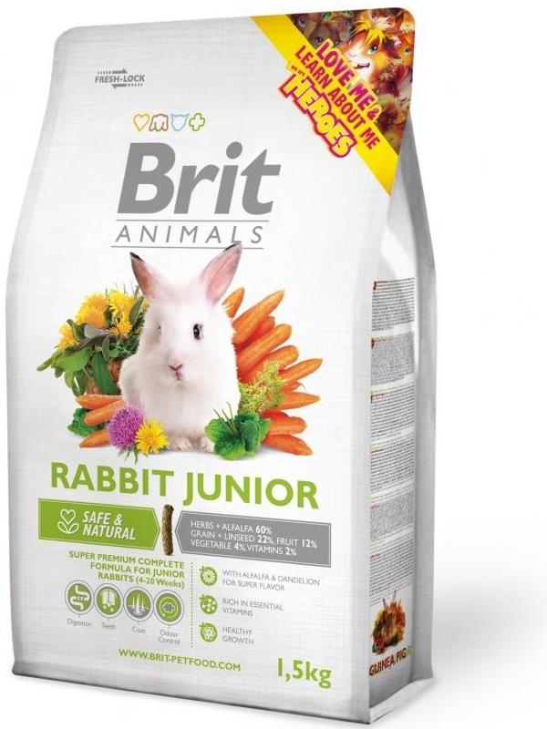 BRIT Animals Rabbit Junior 1,5kg
