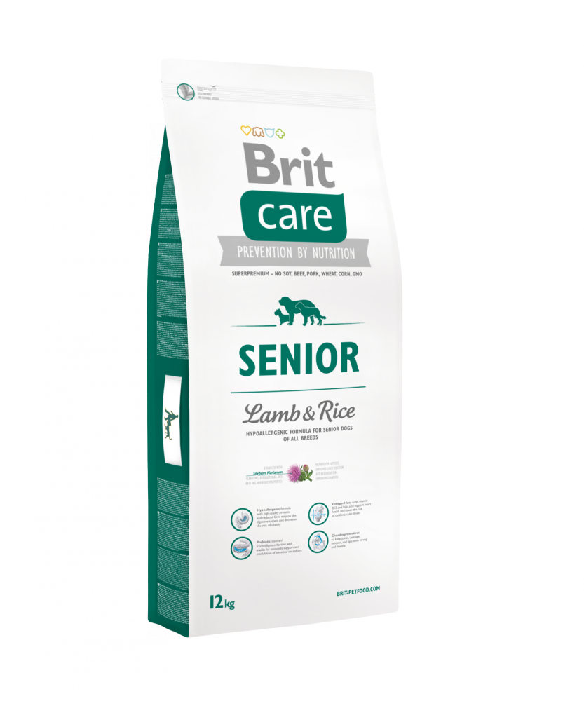 Brit Care Senior 2x12kg