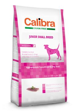 Calibra Dog Grain Free Junior Small Breed Duck & Potato 2kg