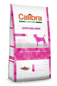 Calibra Dog Grain Free Junior Small Breed Duck & Potato 2kg
