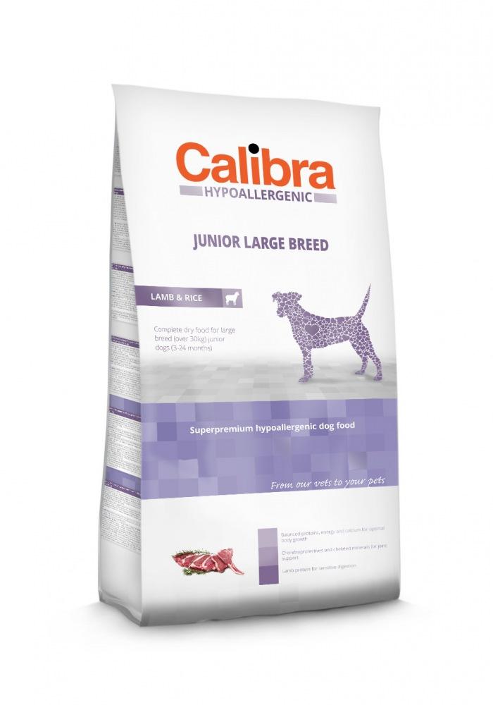 Calibra Dog HA Junior Large Lamb & Rice 3kg