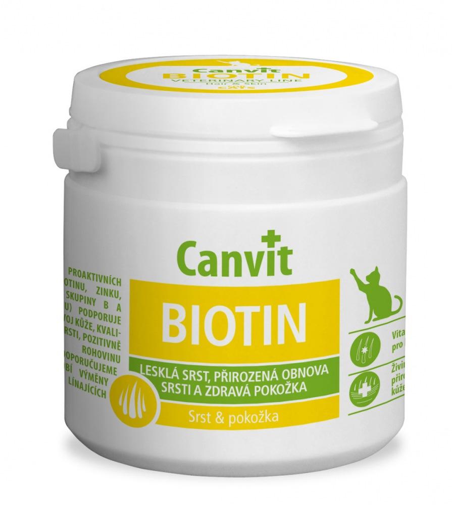 Canvit Biotin Cat 100g tbl.