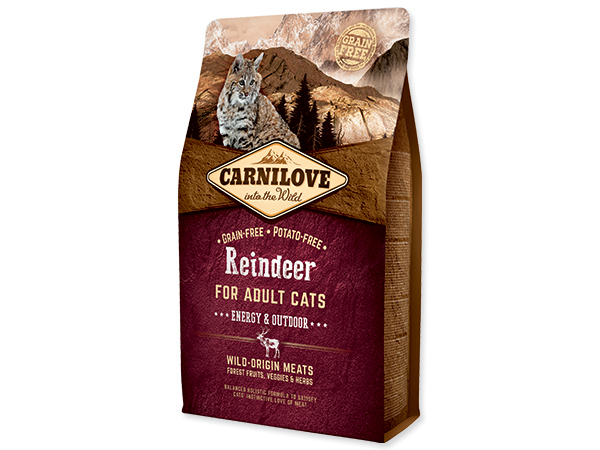 CARNILOVE Cat Reindeer Energy and Outdoor 2kg