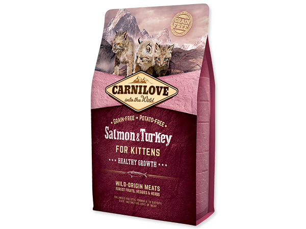 CARNILOVE Kittens Salmon and Turkey Healthy Growth 2kg