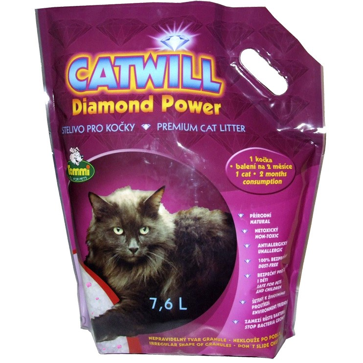 Kočkolit Catwill Diamond Power 7,6l