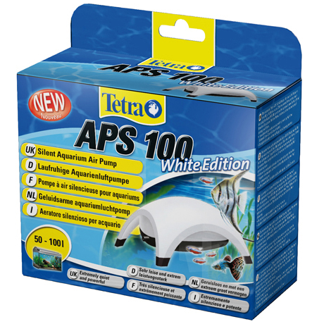 Čerpadlo Tetra bílý APS 100, 100l/h 2,5W