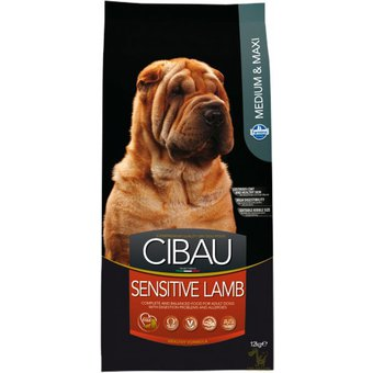 CIBAU Dog Adult Sensitive Lamb & Rice 12kg