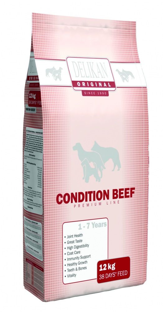 Delikan Original Condition Beef 12kg