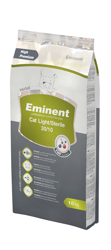 Eminent Adult Cat Light/Sterile 2kg
