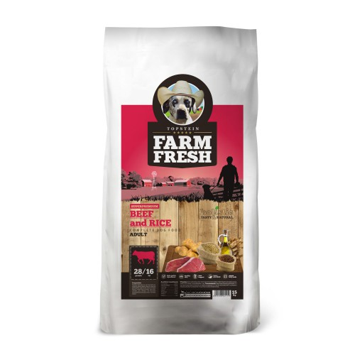 Farm Fresh Beef & Rice 2kg
