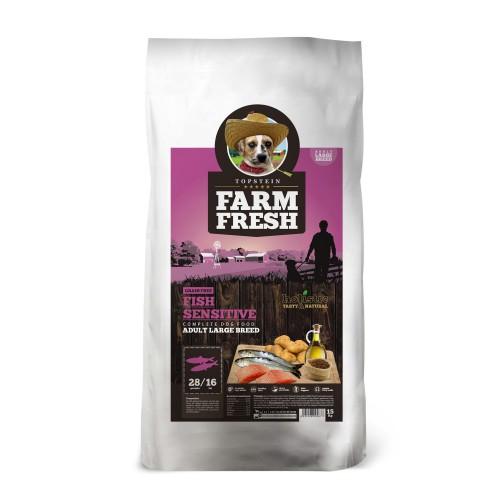 Farm Fresh Fish Sensitive Large Breed Grain Free 15kg