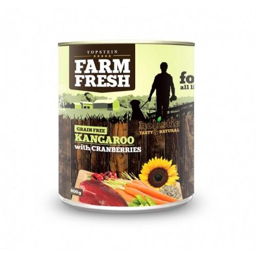 Farm Fresh Konzerva Kangaroo with Cranberries 800g