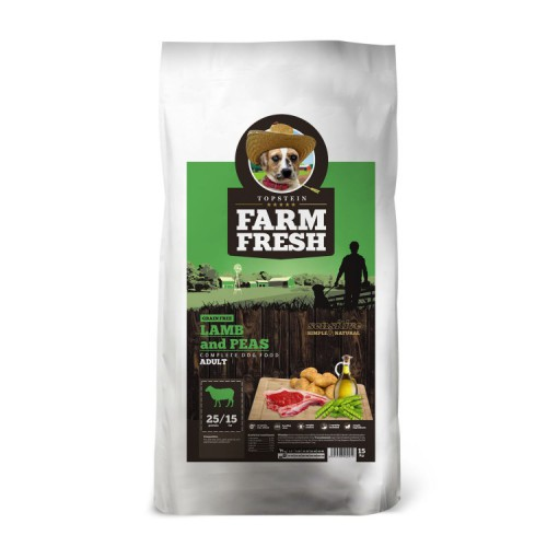 Farm Fresh Lamb & Peas Grain Free 2kg