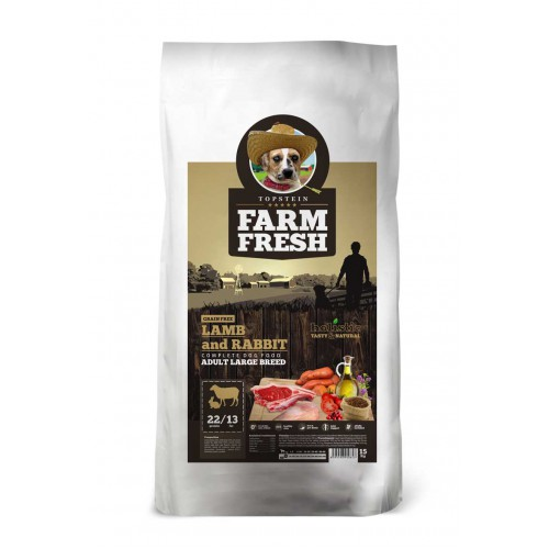 Farm Fresh Lamb & Rabbit Adult Large Breed Grain Free 10kg