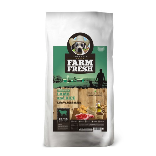 Farm Fresh Lamb & Rice Large Breed 15kg