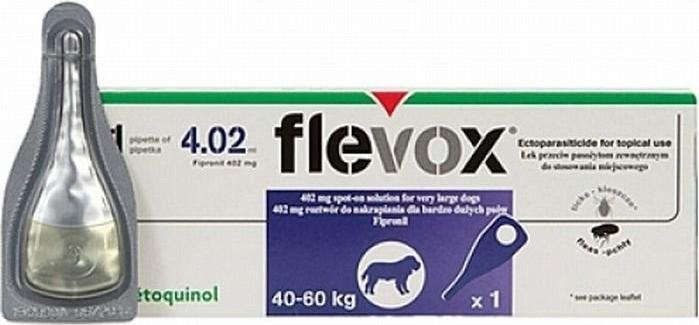 Flevox spot on dog XL 1x4,02ml