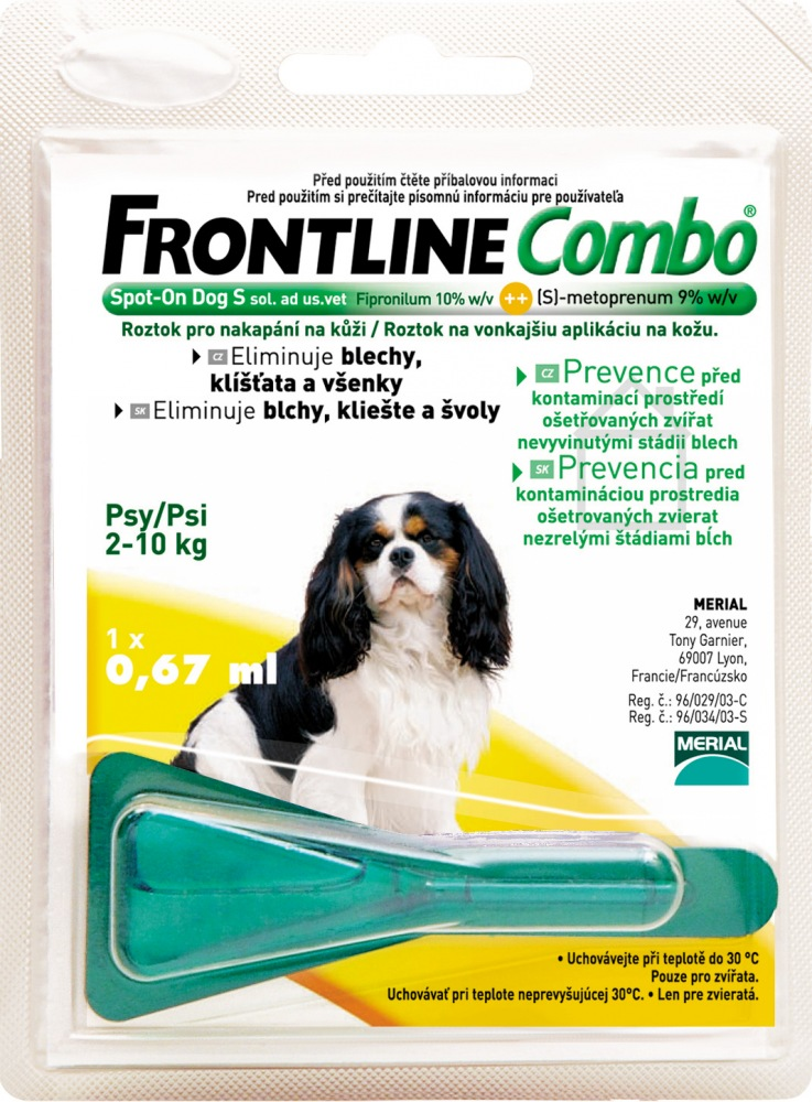 Frontline Combo Spot On Dog S 1 x 0,67ml