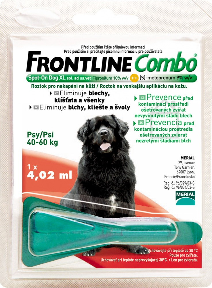 Frontline Combo Spot On Dog XL 1 x 4,02ml