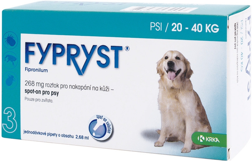 Fypryst spot on dog L 1 x 2,68ml