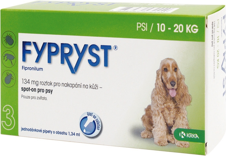 Fypryst spot on dog M 1x1,34ml
