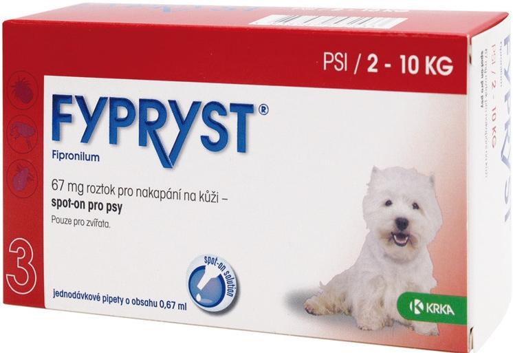 Fypryst spot on dog S 1x0,67ml