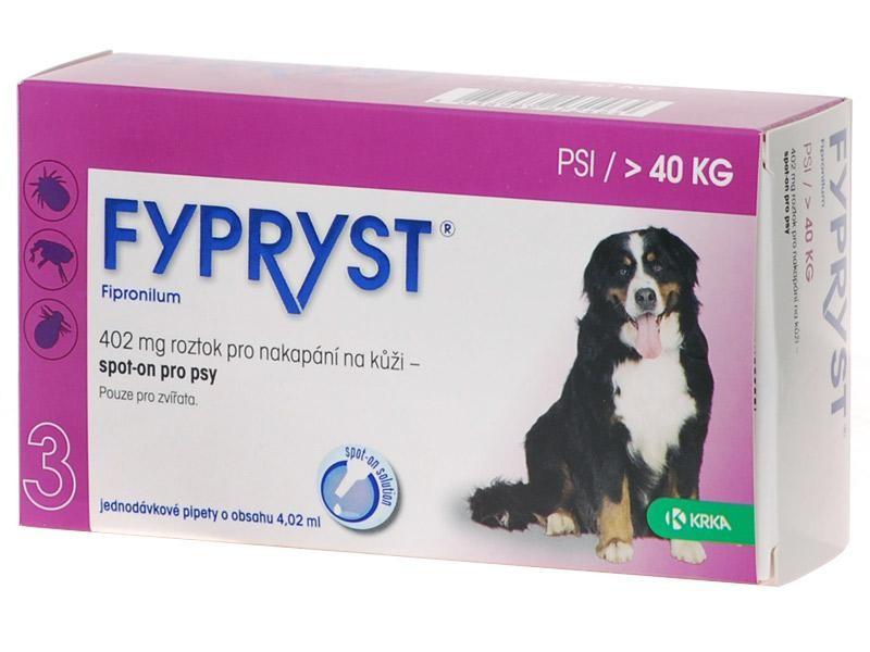 Fypryst spot on dog XL 1x4,02ml