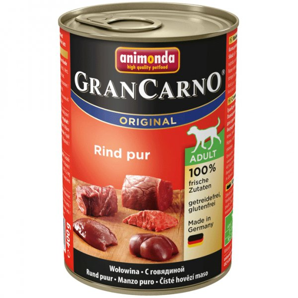Gran Carno Adult konzerva hovězí 400g